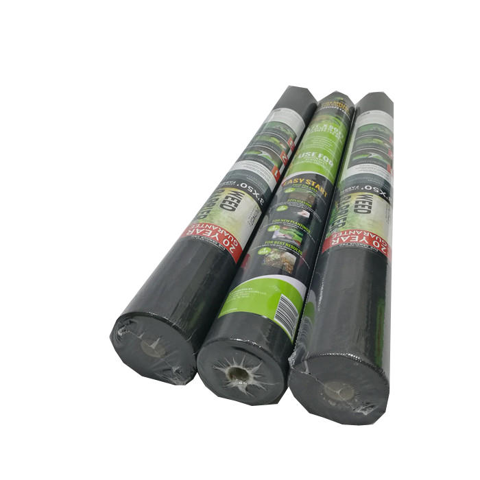 Nonwoven Polypropylene Weed Barrier Landscape Fabric 50gsm 1m*50m