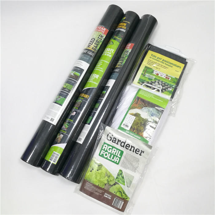 100% PP Spunbonded Nonwoven Fabric For Agriculture As Weed Control Mat/Anti Grass Cloth/Plant Cover Cloth
