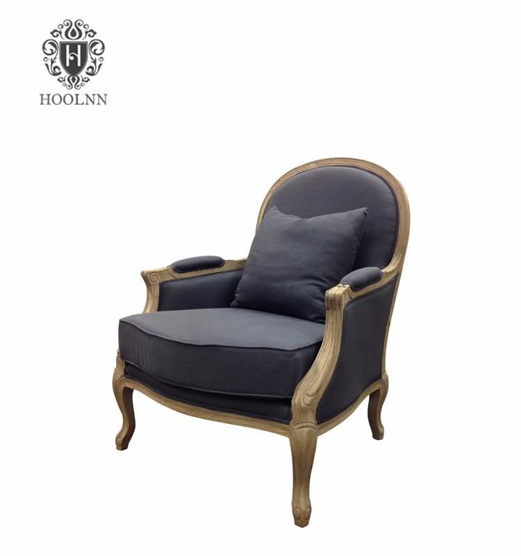 Wooden European Style Luxury Classic Armchair S1089