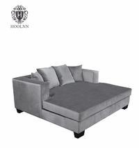 European Style Fancy Antique Corner Sofa Beds/ wooden divan bed design/ottoman day bed