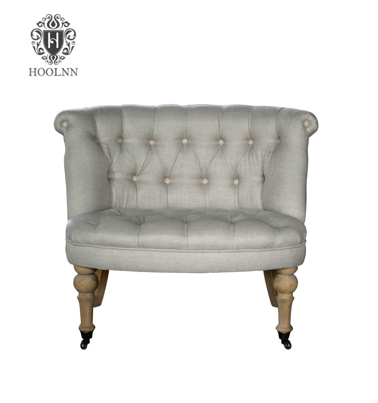 Wooden Antique Living Room Furniture Armchair S1067-2