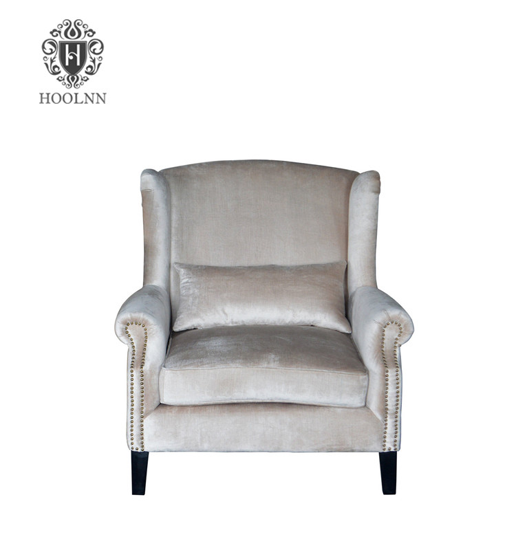 French Antique Wing Back Chair S1008