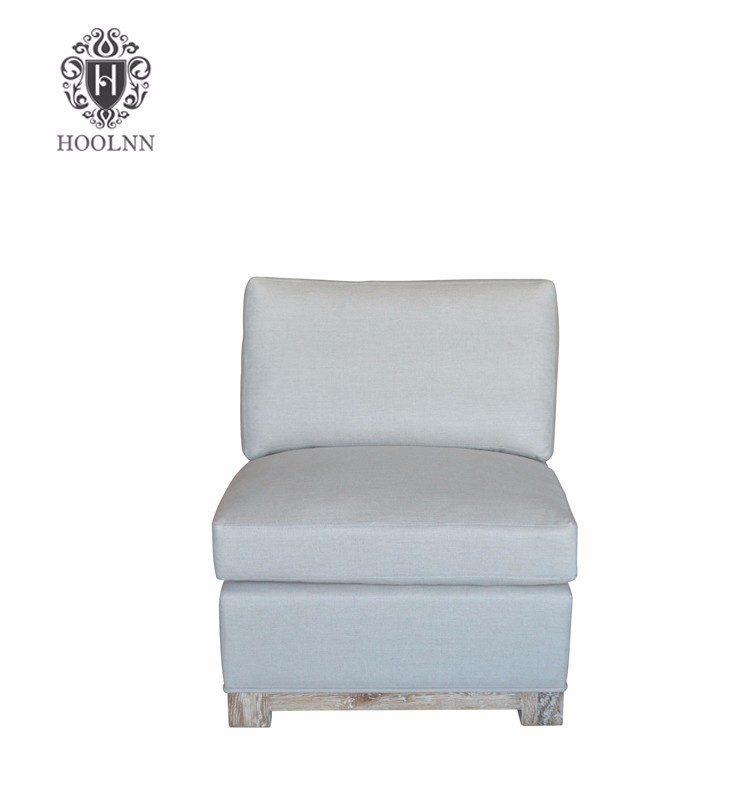 Upholstered Occsional Nordic linen Leisure Chair HL189
