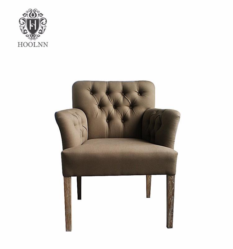 Long Back Oak Living Room Furniture Sofa