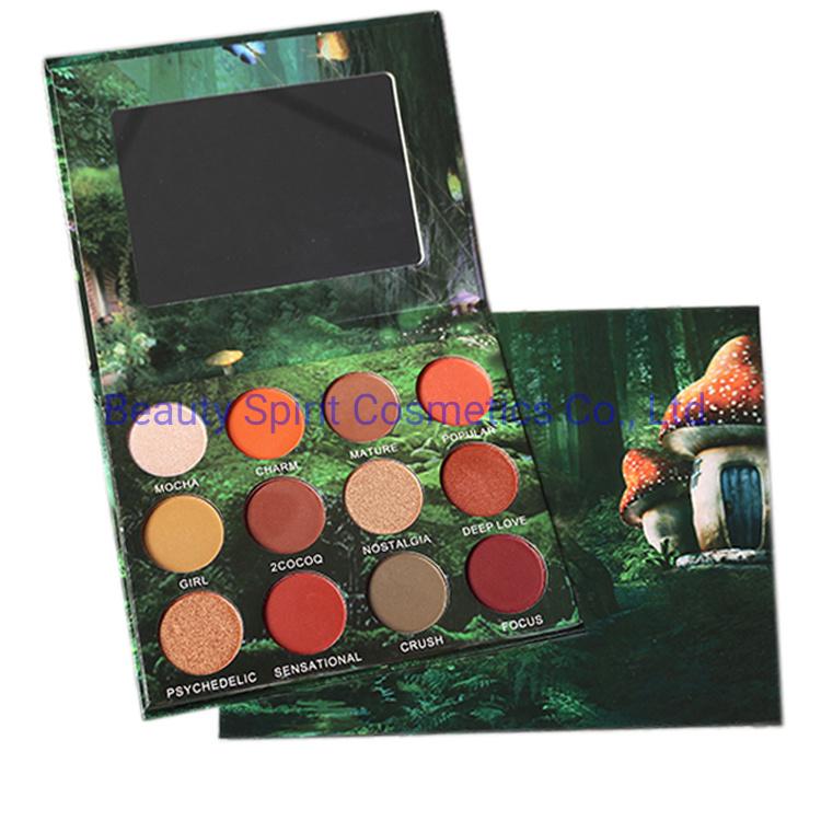 OEM Customized Eye Shadow Palette Cosmetics Make up Face Highlighter Eyeshadow