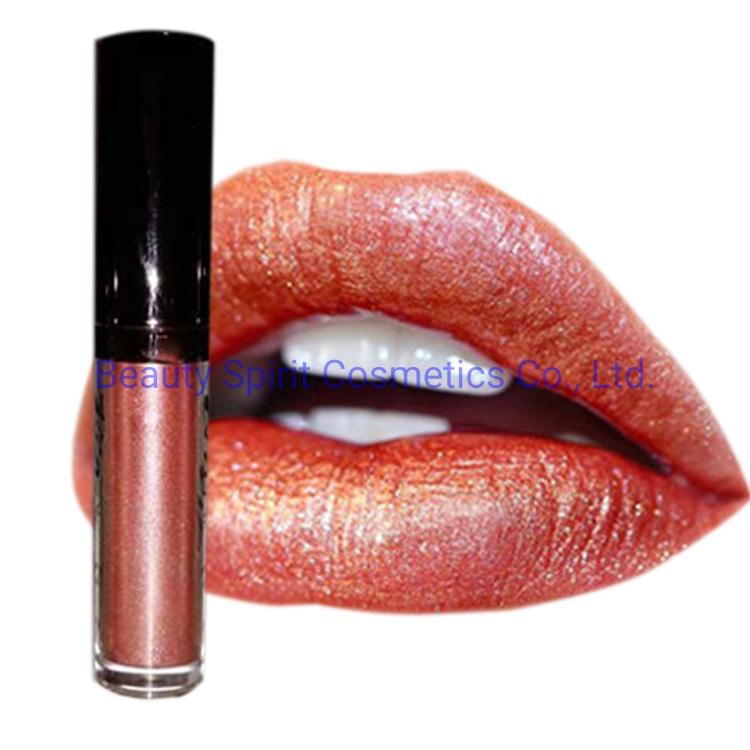 OEM Cosmetics Makeup Lipgloss Long Lasting Liquid Matte Metallic Lipstick