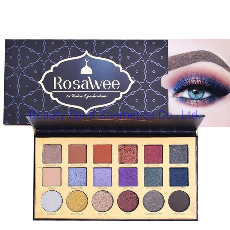 OEM Customized Private Label Eye Shadow Palette Cosmetics Makeup Eyeshadow