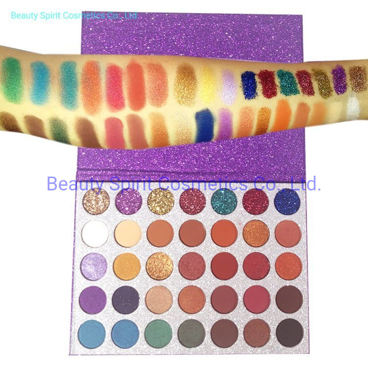OEM Customized Eyeshadow Palette Cosmetics Makeup Kit Manufactory