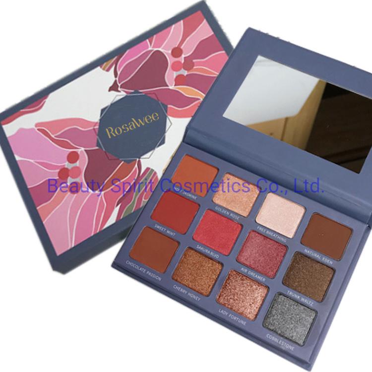 OEM Customized Eye Shadow Palette Cosmetics Makeup Eyeshadow
