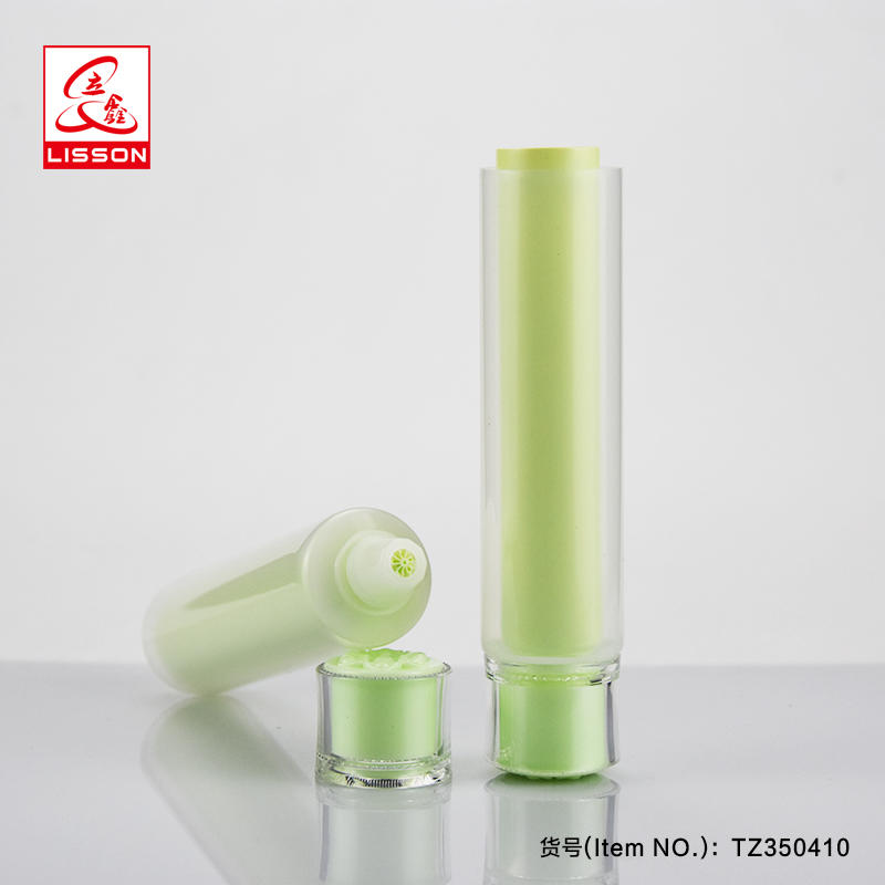 30ml dual chamber containerskin care container hand cream tube