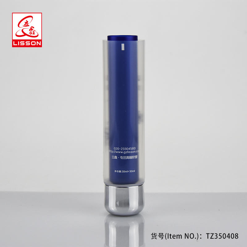 30ml wholesale dual chamber tube packaging skin care container