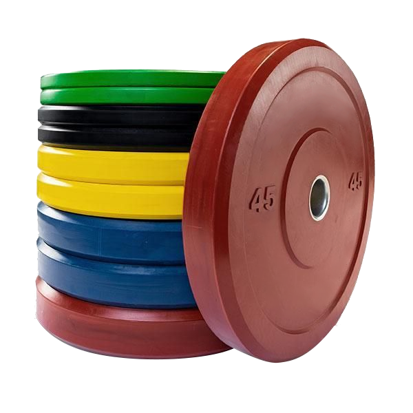 Cheapest Barbell Custom 45 pounds Olympic Rubber Competition Gym kg Change Bumper Plates Weight Lifting Plate Set Lbs