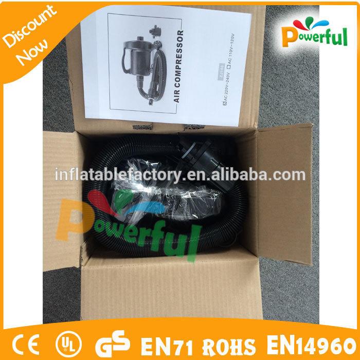 110 v /220v air pump for inflatables