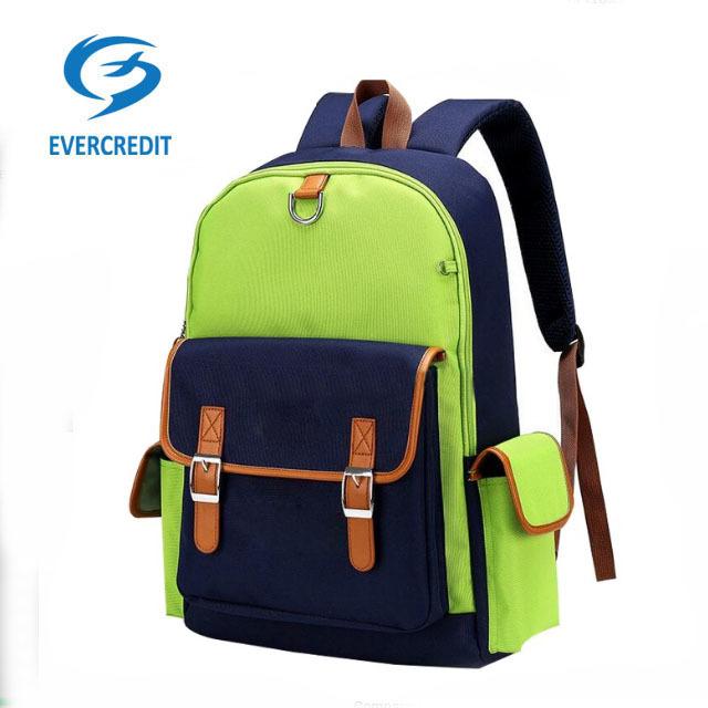 new style Kids school backpack bags school bag