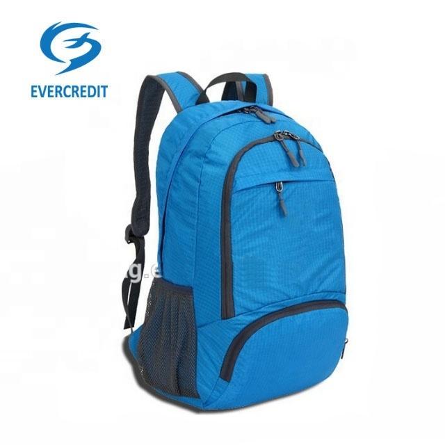 Folding Men And Women Nylon Waterproof TravelBackpack BagSports Backpacks