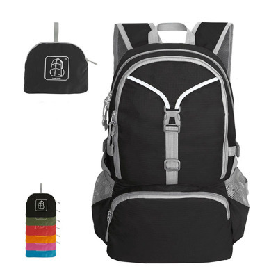 Nylon cheap lightweightwaterproof durable rolling foldable backpack for hiking