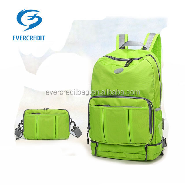 Hot sales cheap Folding back pack travel bag school bag