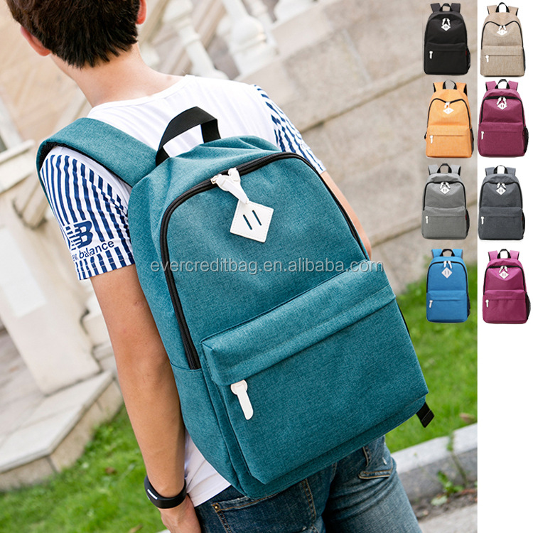 Casual Laptop Backpack Lightweight Classic Bookbag Water Resistant Rucksack for Travel