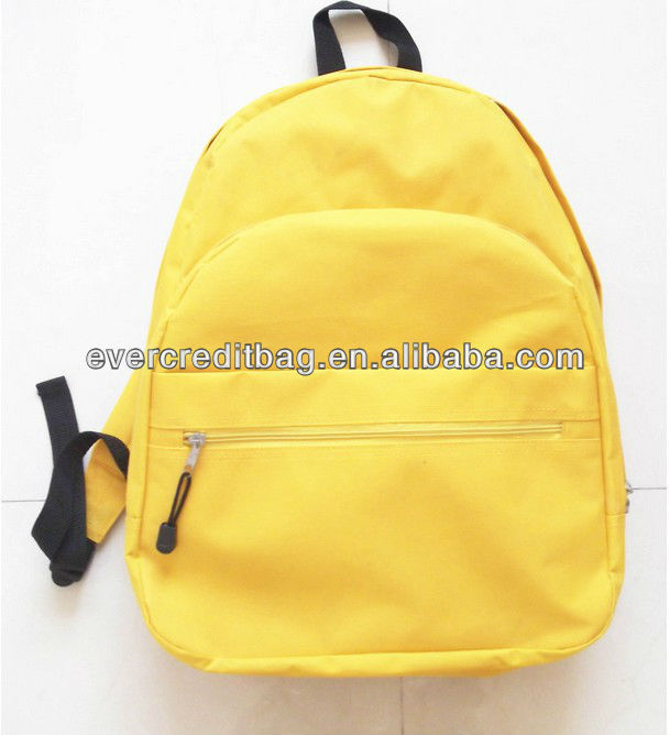 High Quality Simple Children School Backpack