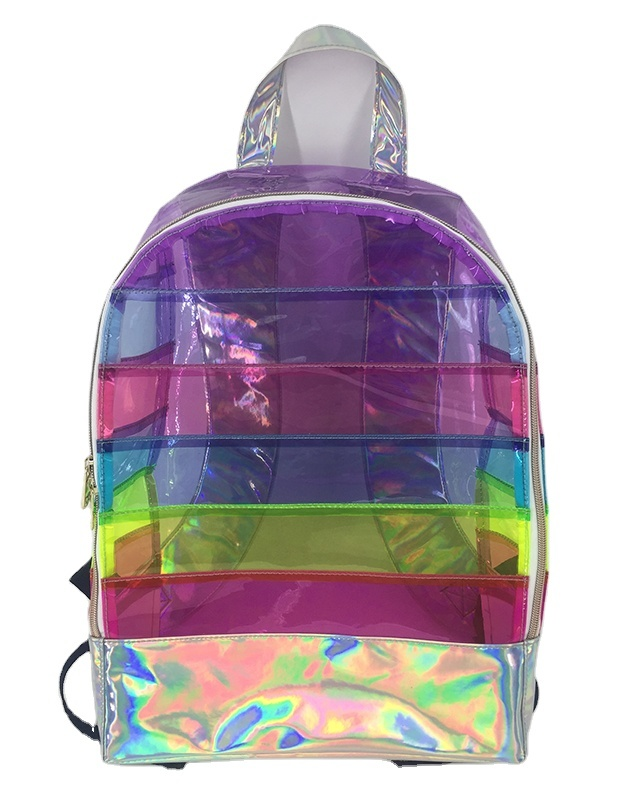 fashionablecheap cute Clear PVC backpack for girl and boys