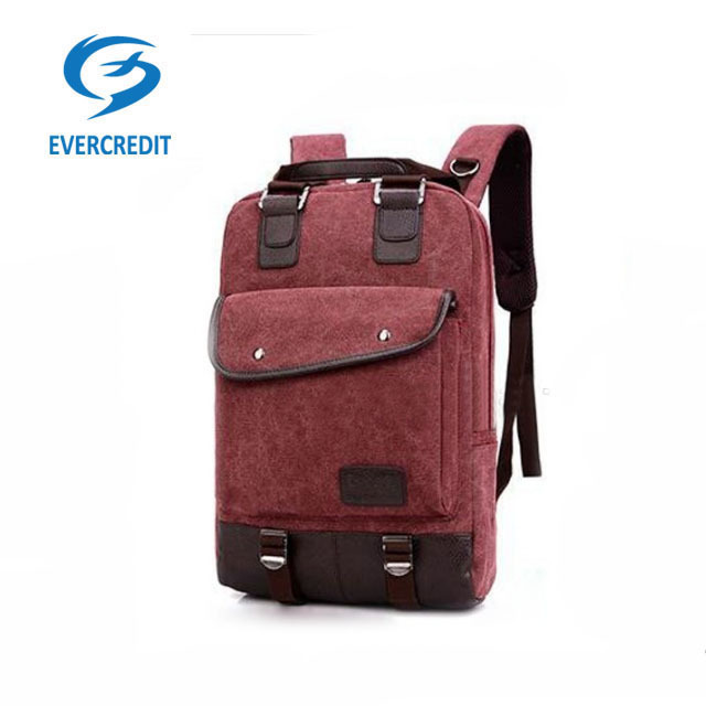 Hot new products attractive laptop canvas personal backpack
