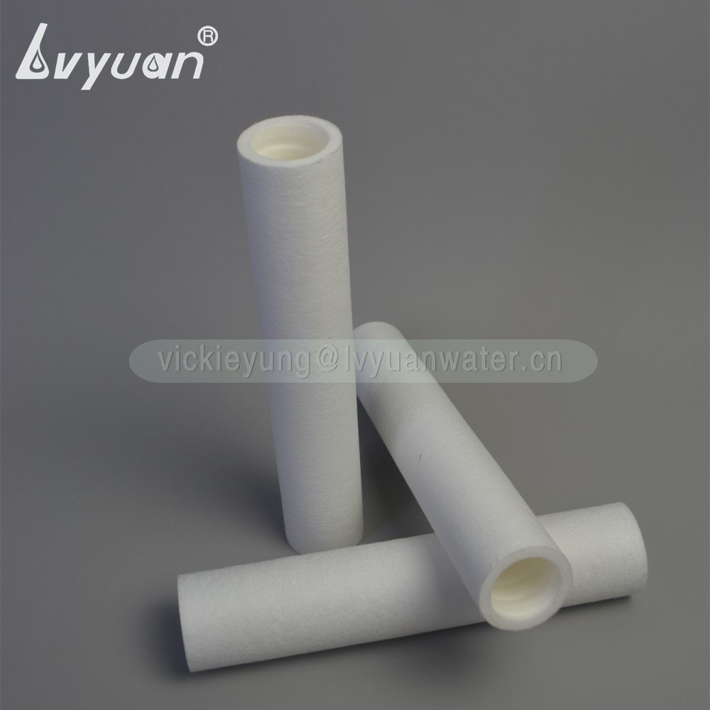 BB big blow rate spun PP polypropylene composite carbon filter 5 microns sediment filter cartridge with 10x4.5 inch