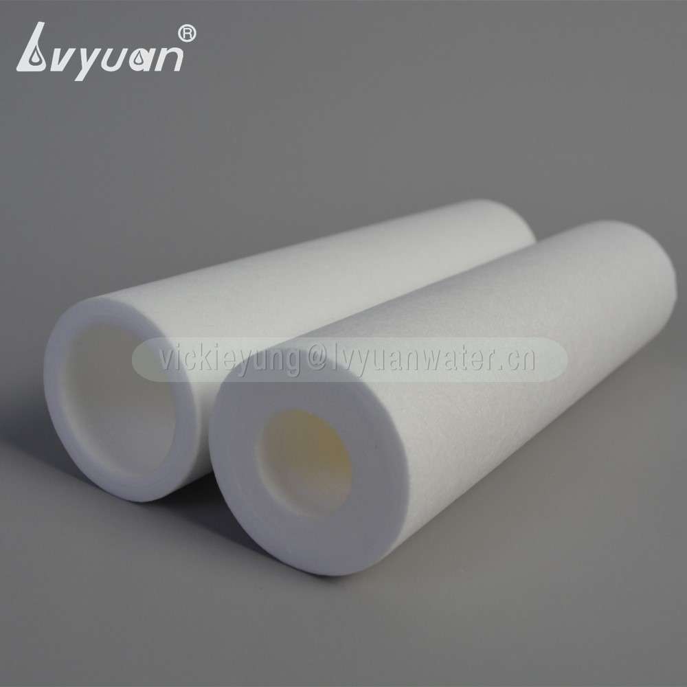 Factory custom specification 1 micron pp melt blown sediment filter for housing water replaced cartridge filter