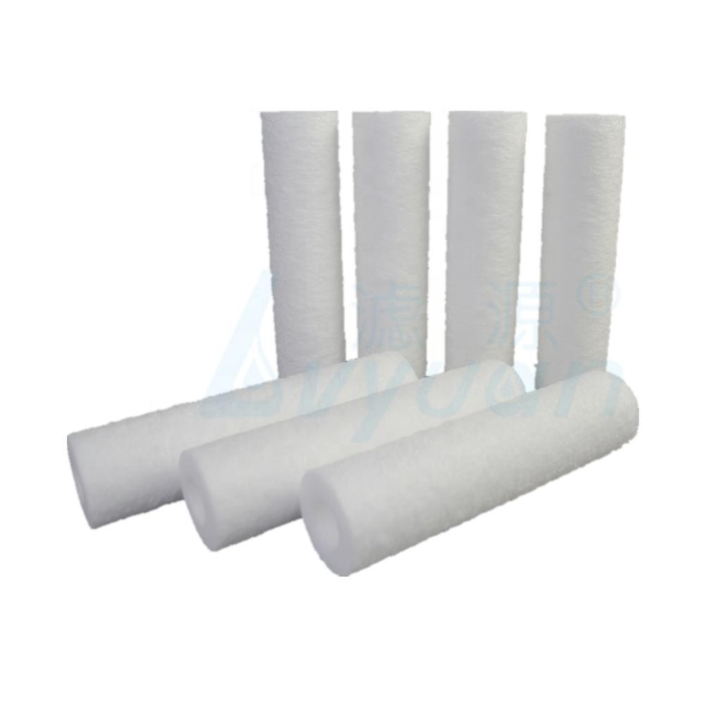 10 20 inch 5 micron big pp sediment filter cartridge/big size pp string wound filter