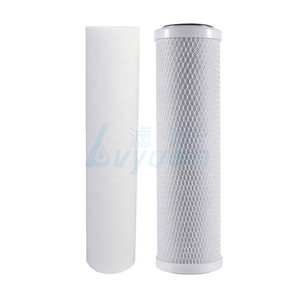 5 micron pp carbon water filter cartridge 10 20 inch for reverse osmosis water filter