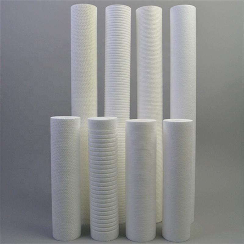 PP spun filter cartridge 5 micron Polypropylene filter cartridge 10 inch Wholesale
