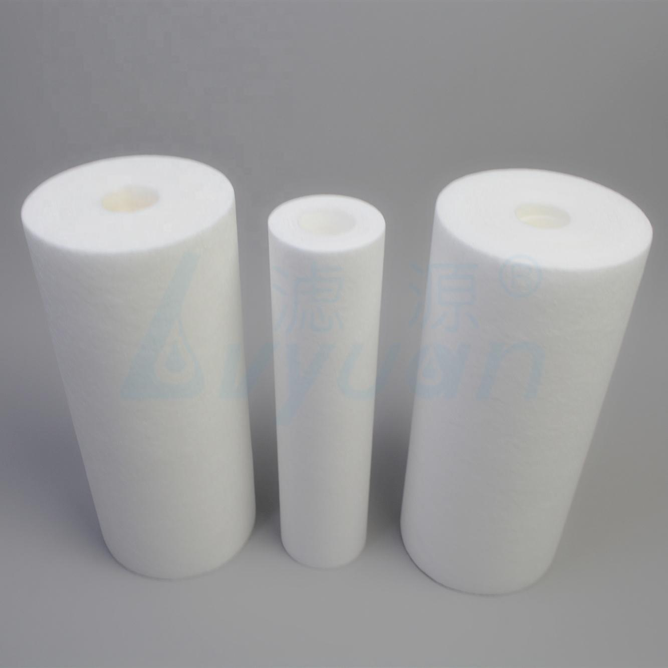 Water Filtration Double precision melt blown Filter Cartridge pp filter for filtering sediment with 1 3 5 micron