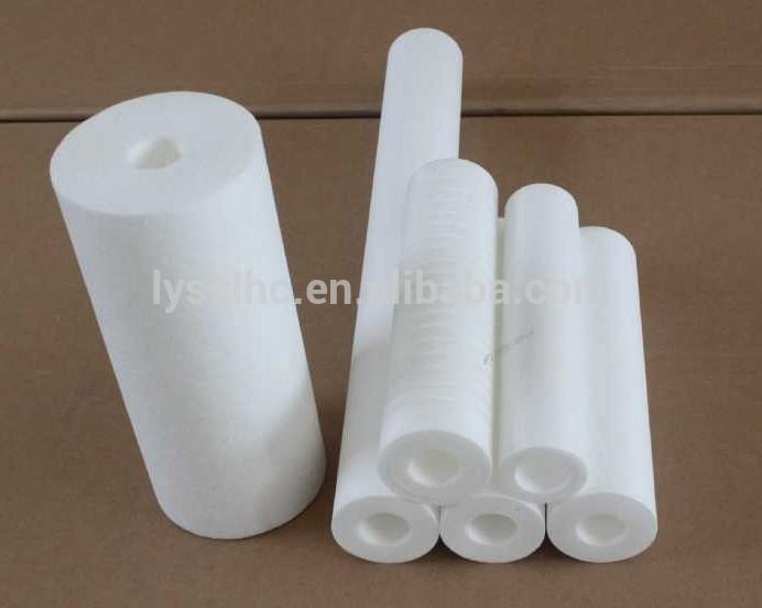 PP CTO UDF water micro filter cartridge for Reverse Osmosis