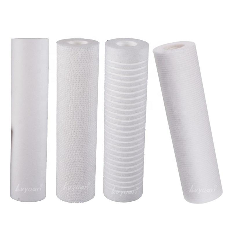 5 10 20 30 40 inch Home Industrial use 1 5 20 micron cartridges PP filter Cartridge Melt Blown for water purification filtering