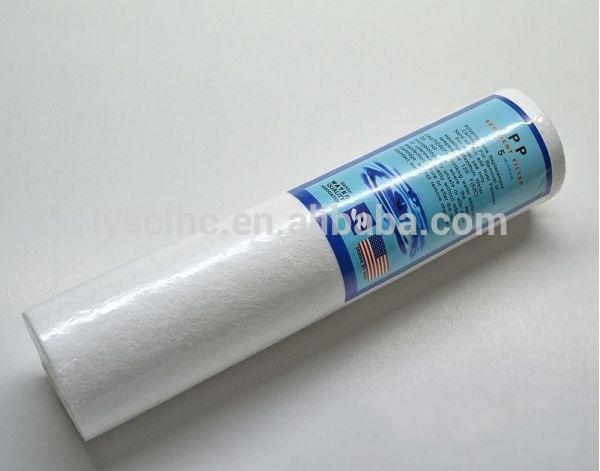5 micron PP filter Sediment Cartridge 10 inch for water filter parts