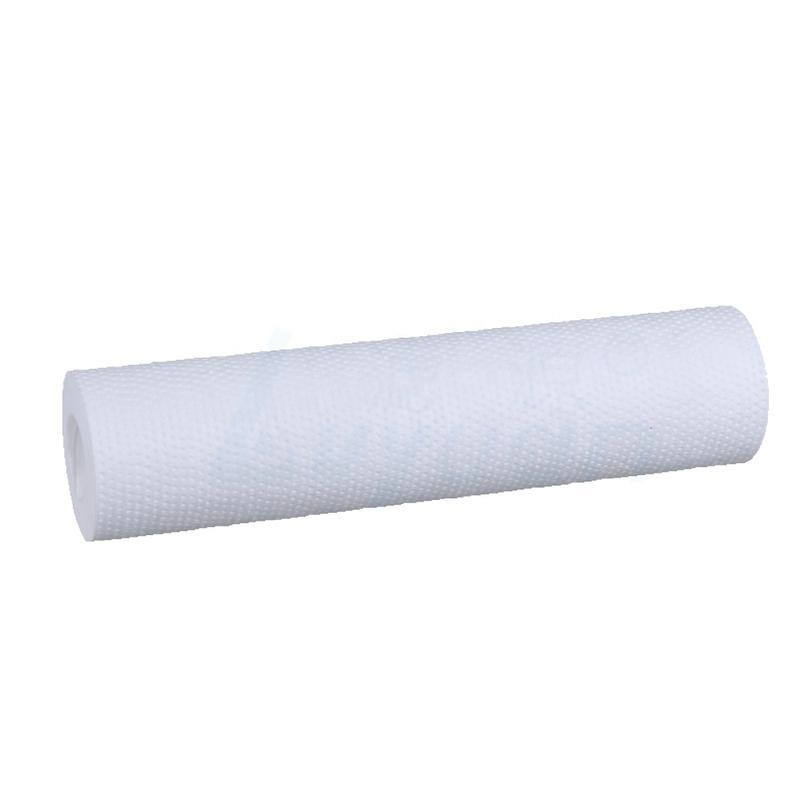 pre filtration 5 um PP Sediment melt blown Water Filter Cartridge /Spun Filter