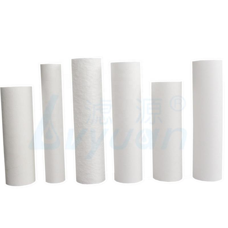 High flitration micron 5 10 20 30 40 inch pp sediment filter cartridge pp filter