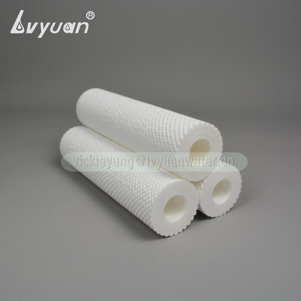 Customized sizes 1 5 10 microns melt blown series PP polypropylene water filter cartridge sediment for liquid water filter