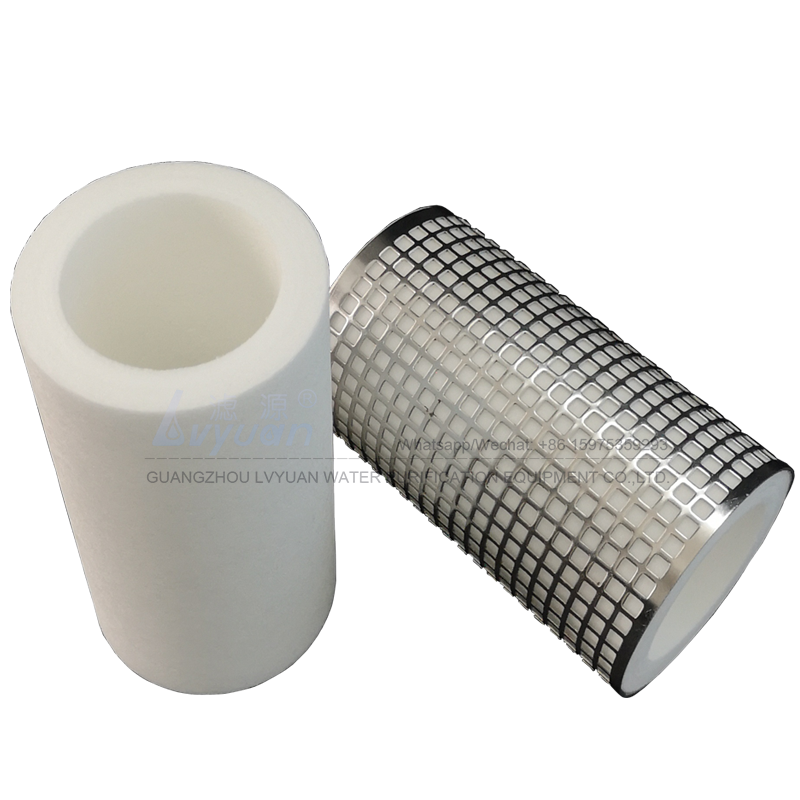 Customized melt blown/Spun sediment water filter 1/5/10 microns PP cartridge water filter with plastic stainless steel core