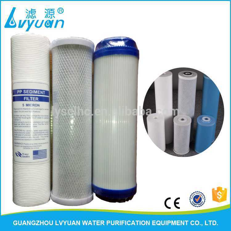 10 20 inch PPF+GAC+CTO Home Pure water filter cartridge