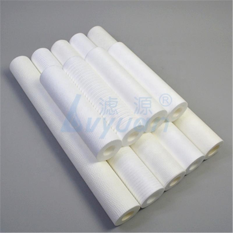 Various dimension micropore water filter PP sediment cartridge for Liquid purification