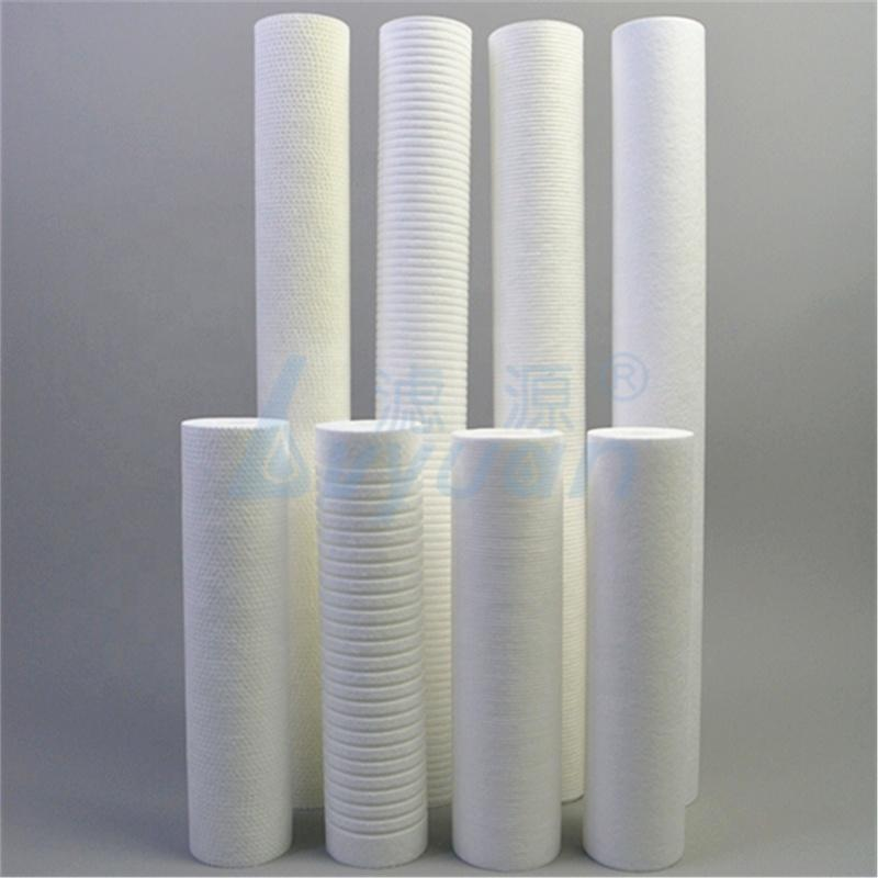 2.5 x 10/20/30/40 inches 5 micron PP Melt Blown cartridges for sediment filter sales