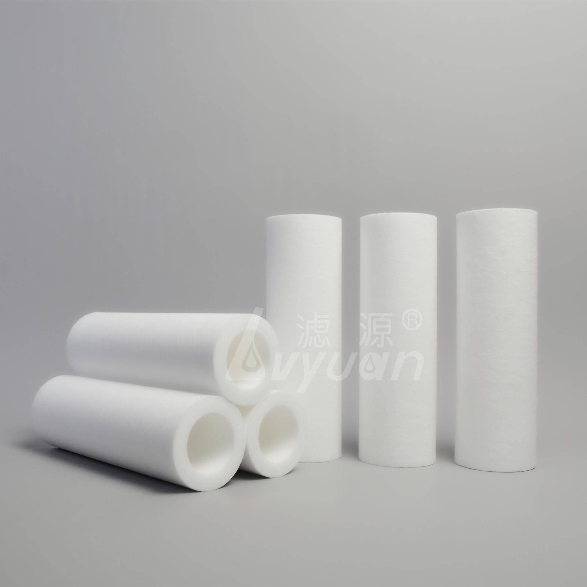 10 20 30 40 inch pp melt blown filter cartridge filter water with 1 3 5 micron