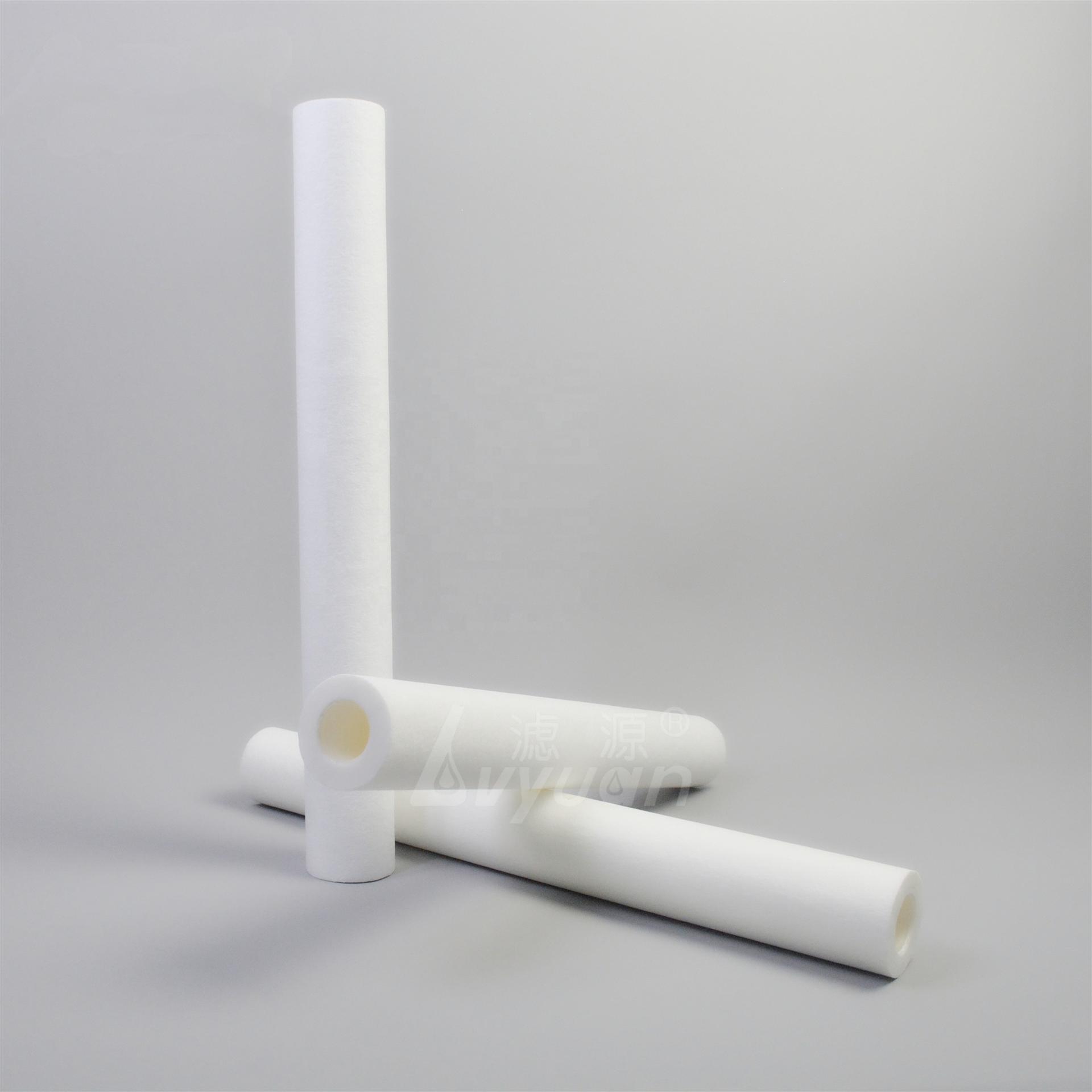 discount price 20inch flat DOE pp melt blown filter /pp water filter cartridge 1 box /25/pcs