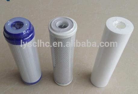 Water Associate UDF Activated CTO Compressed Carbon PP Sediment Filter cartridge for drinking Water Purifier Prefiltering