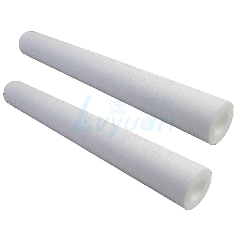 Big water filter rate PP filter core 1/5/10 microns water sediment filter cartridge with 222 226 227 Fin plastic