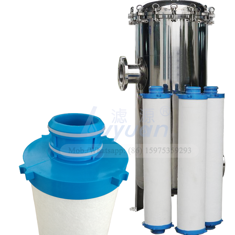 High flow water filter rate PP material 40 inch big blue water filter cartridge for 10 micron industrial water filter machine