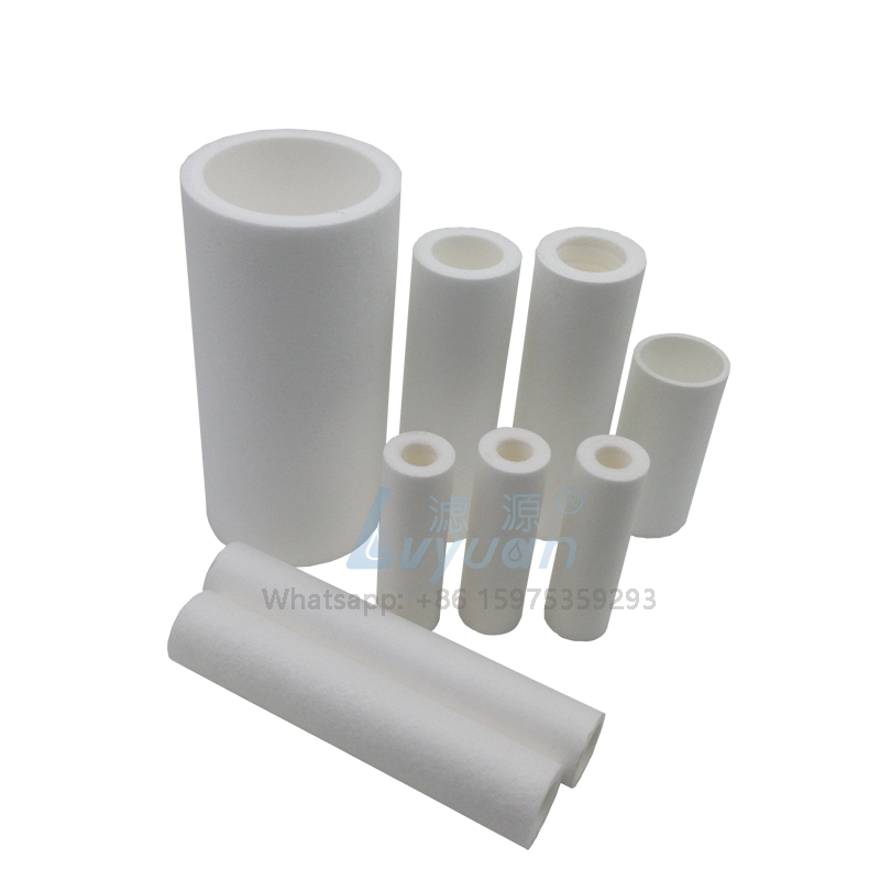 OEM different size polypropylene material 1 & 5 micron pp water filter cartridge for cartridge filter housing