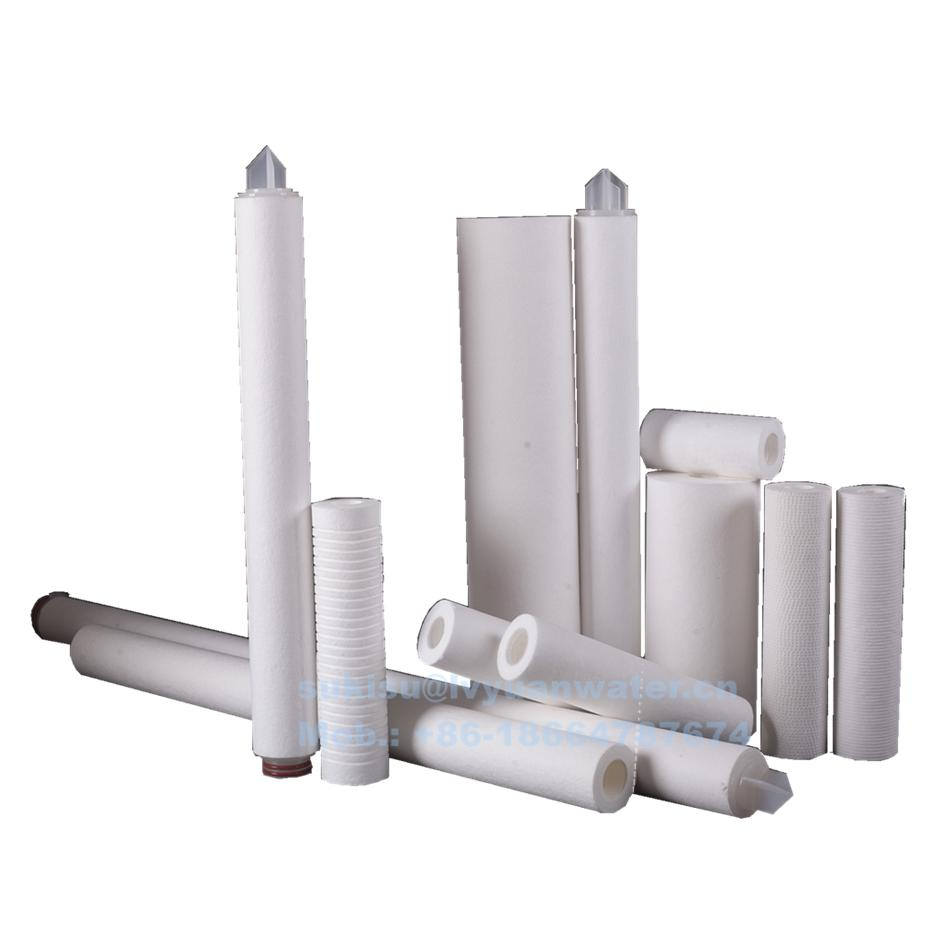 Manufacturer All Dimension Polypropylene PPF Water Filter Cartridge Filters for Water Treatment Plant
