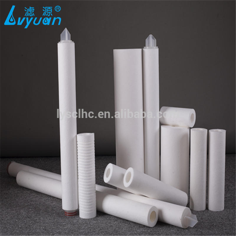 PP melt brown Micro filter media cartridge for water purification