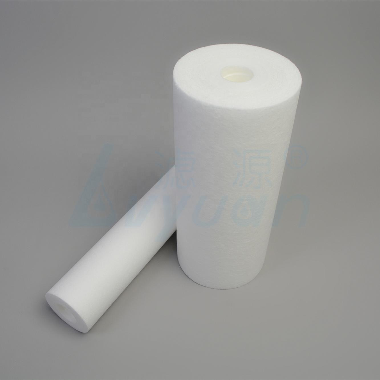 PP Melt Blown Filter Cartridge Customized Size Sediment Water Filter with 1 3 5 10 20 15 50 75 100 Micron